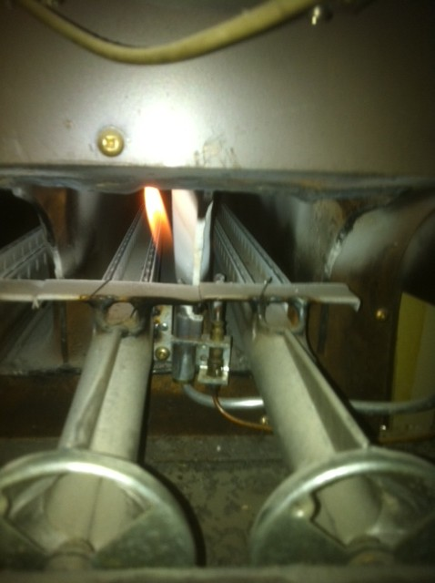 lennox furnace pilot light