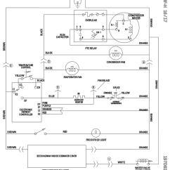 Wiring Diagram Of Refrigerator Diagrams For Relay Lighting Whirlpool Profile Get Free