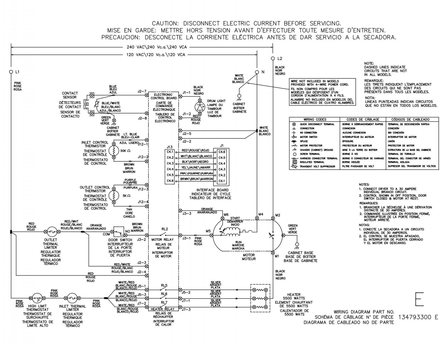 electrolux dryer wiring diagram crutchfield subwoofer repair appliantology org a master samurai tech appliance eigd50liw0 electric schematic