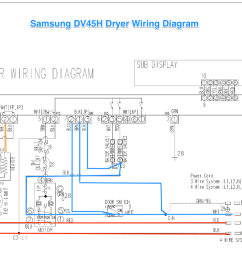 samsung dv42h dryer wiring diagram [ 1254 x 776 Pixel ]