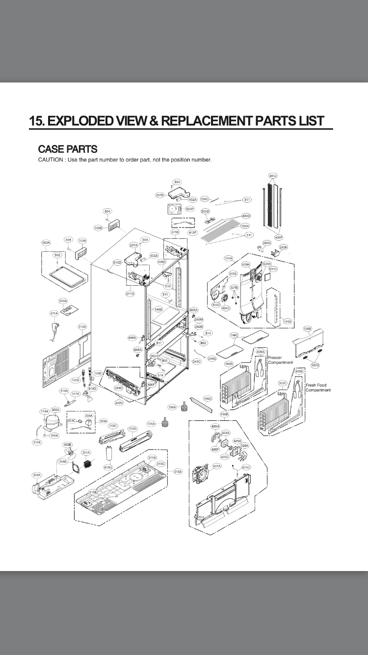 Lg Appliances Parts Diagram : 27 Wiring Diagram Images