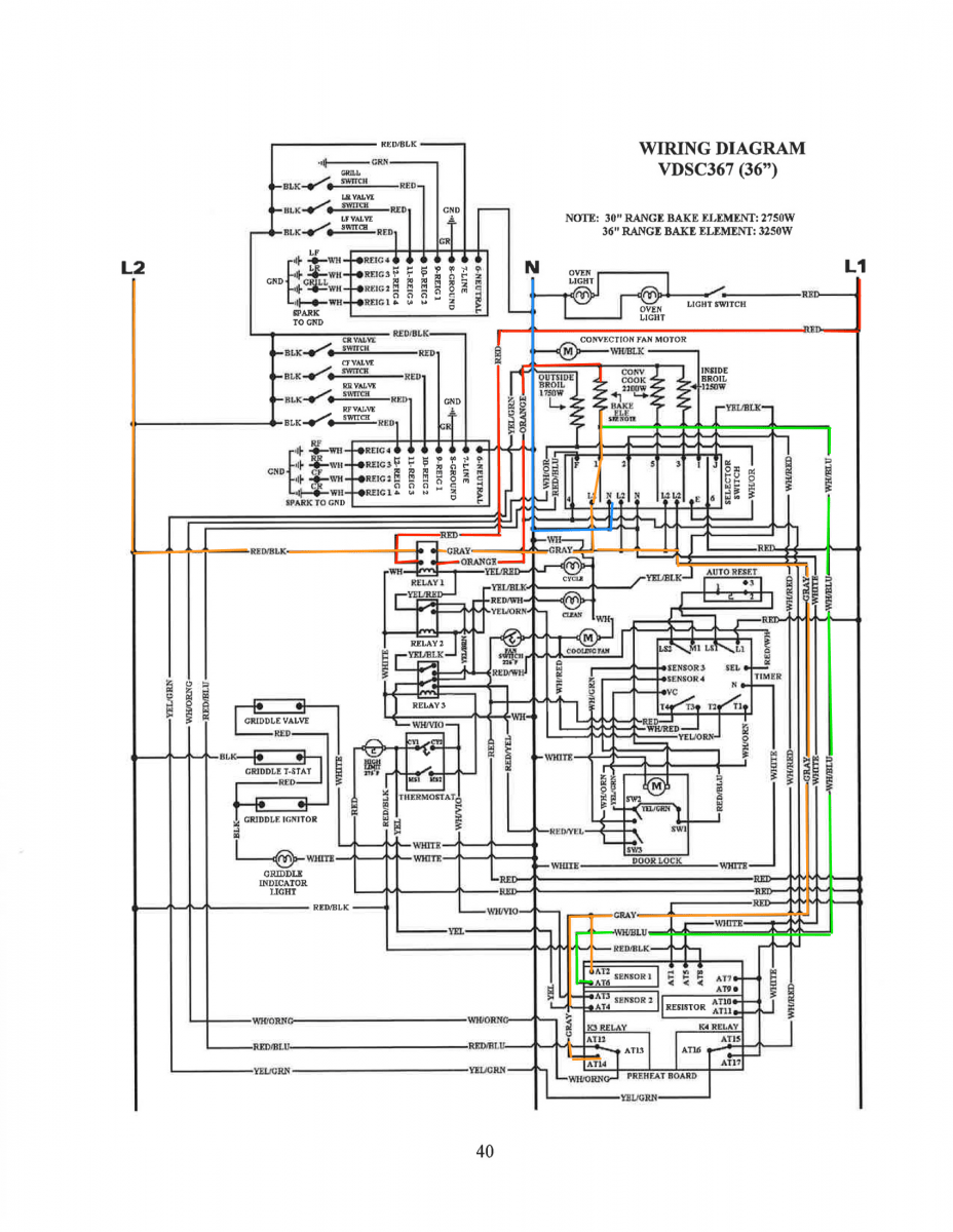 hight resolution of viking vdsc367 range bake circuit schematic trace the viking oven wiring diagram