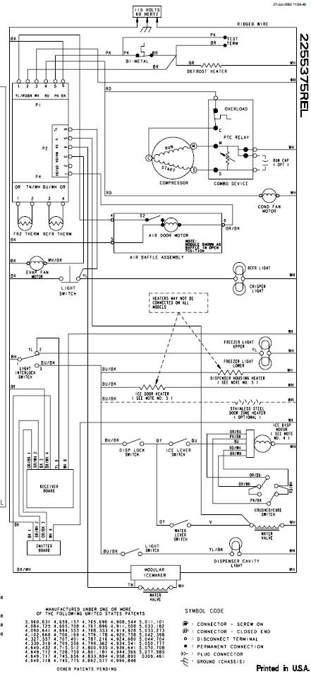 Kenmore refrigerator service manual needed for ice makes