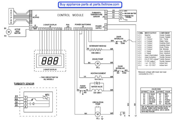Wiring Diagram Kitchenaid Dishwasher