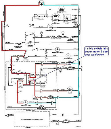 ge refrigerator motherboard wiring diagram ge refrigerator GE Refrigerator Wiring Circuit Diagram GE Refrigerator Wiring Circuit Diagram