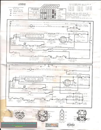 Kenmore Dryer Wiring Diagrams : kenmore, dryer, wiring, diagrams, Kenmore, Dryer, Model, Number, 110.66662500, Schematic, Electric, Models, Fixitnow.com, Samurai, Appliance, Repair