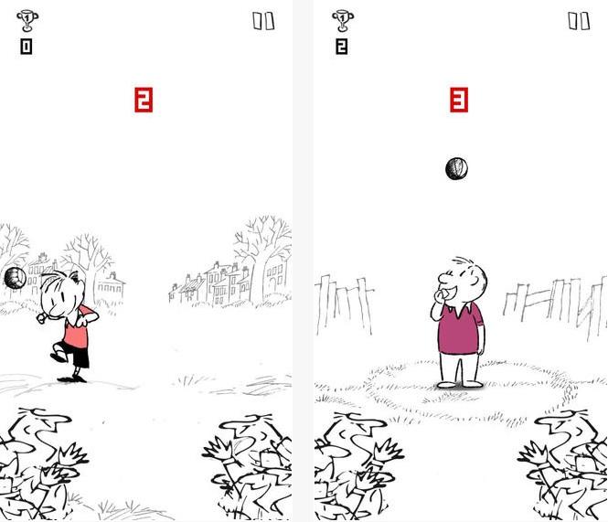 Le Petit Nicolas joue au foot sur iPhone, iPad et Android