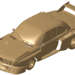 Full vehicle 3D scan open in CATIA V5