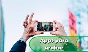 apps para grabar vídeos