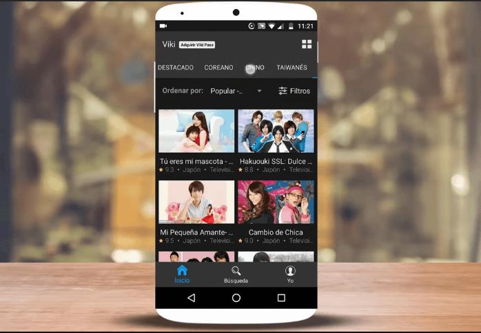 Apps para ver series coreanas