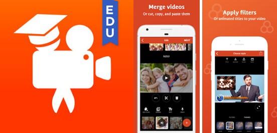 logo y herramientas de videoshop app