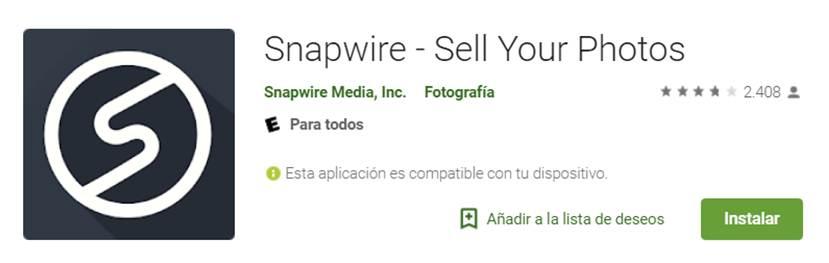 descargar snapwire en google play