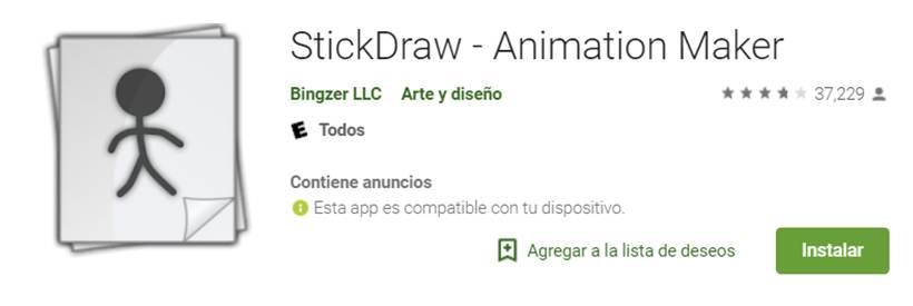 descargar stickdraw en google play
