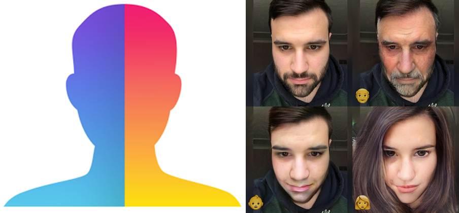 logo y filtros automáticos de faceapp