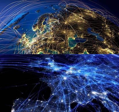 tráfico aéreo para localizar aviones
