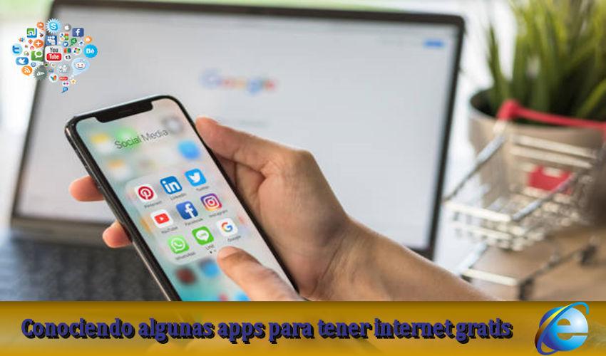 Conociendo la app para tener internet gratis
