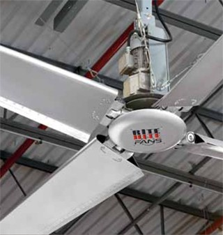 Revolution HVLS Industrial Ceiling Fans  Applied Handling