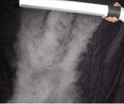 Clean Room Fogger and fog curtain wand
