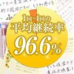 継続率96.6%