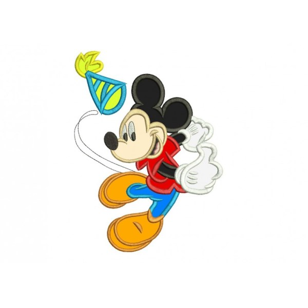 Mickey Mouse And Friends Applique Design