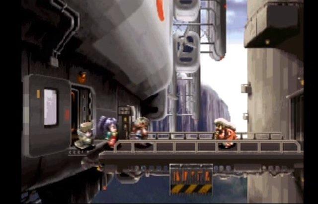 【アークザラッドR】懐かしい飛行艇のシーンも組み込まれている
