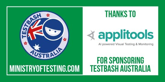 TestBash Australia 2018 - sponsored by Applitools