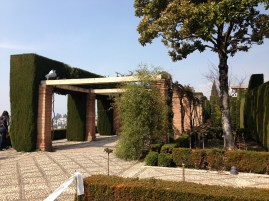 Alhambra garden path