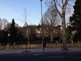 Beautiful, tree-filled Granada