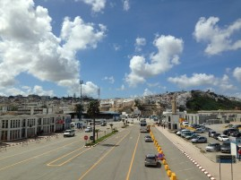 Tangier - view from the bus