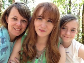 Me and my gorgeous daughters
