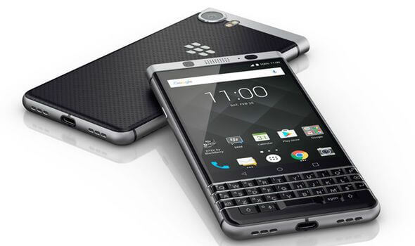 blackberry keyone UK release