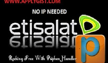Etisalat Psiphon settings