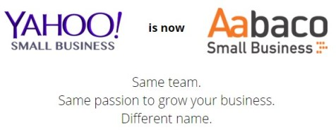 Yahoo introduces its own website building