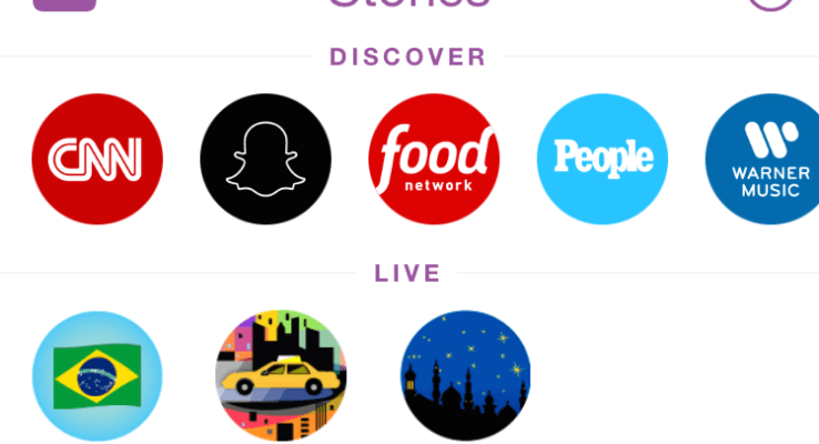 Love Snapchat stories