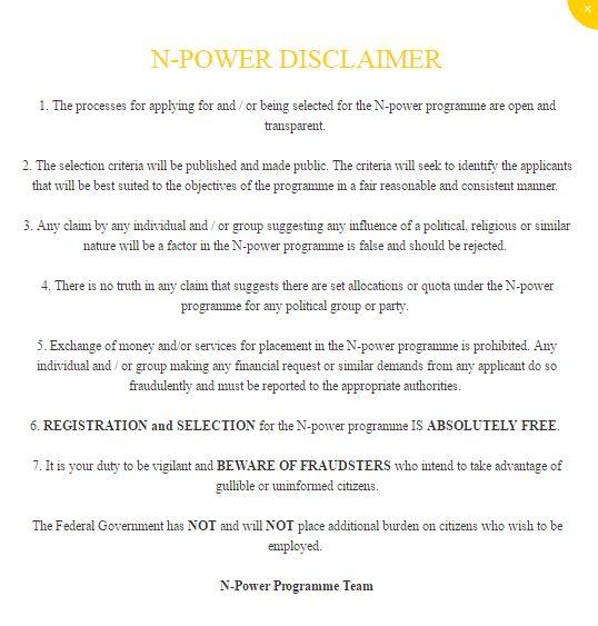 Npower Scam Alert notice 2017