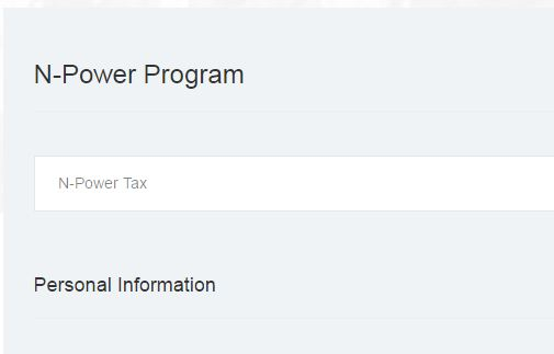 N-POWER TAX Registration 2017 Link https://apply.npower.gov.ng/npower-tax.php