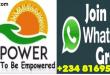 Npower Whatsap group