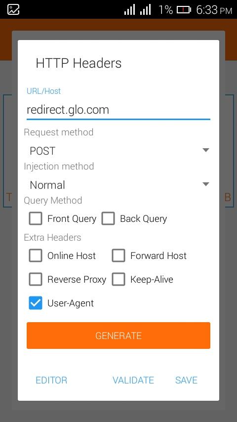 Glo Unlimited Blazing Hot On Anonytun App!