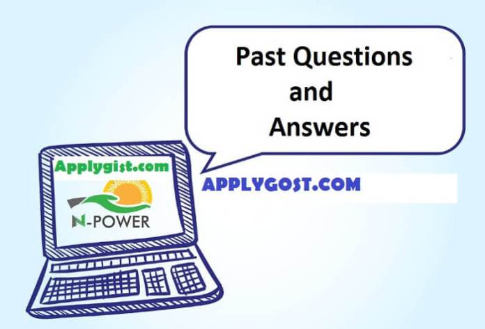 NPOWER TEACH QUESTIONS AND ANSWERS
