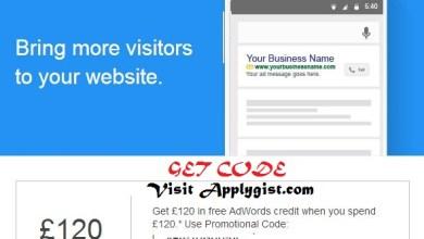Google Free Add word Credit