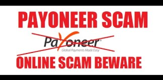 Beware Of Payoneer Scammers