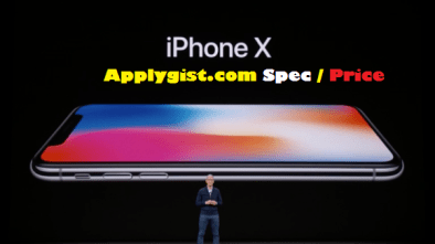 iPhone X Spec and Price Released Date October