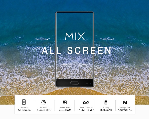Ulefone MIX 5.5 Inch Smartphone Full Specification camera