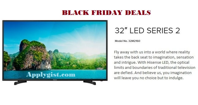 Black Friday 32-Inch HD LED TV spec