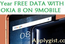 NOKIA 8 AVAILABLE ON THE 9MOBILE NETWORK, Visit 9mobile experience centres, GET FREE 2GB WHEN YOU BUY THE NOKIA 8