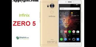 Infinix Zero 5 applygist