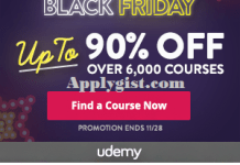 Udemy Black Friday Competition
