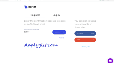 Getbarter.co Experienced A System Upgrade