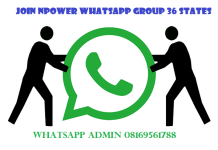 Join Npower Whatsapp Group 36 States
