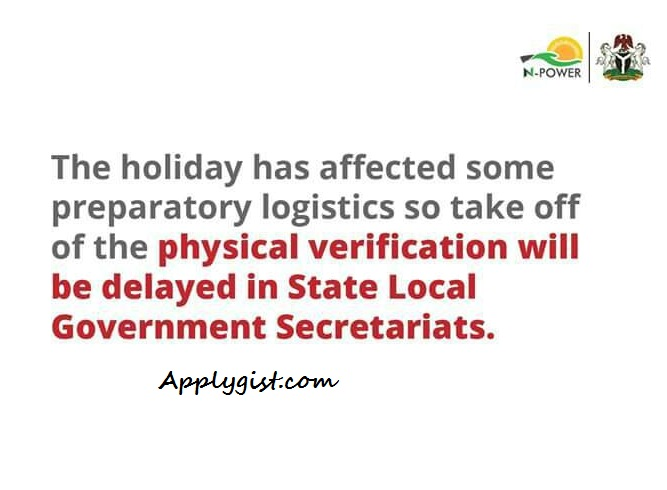 Npower Physical Verification Shifted